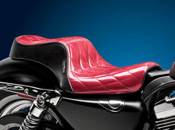 Cherokee // Red Metal Flake // Diamond Seating